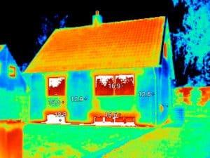 Termografering för att upptäcka energiläckage