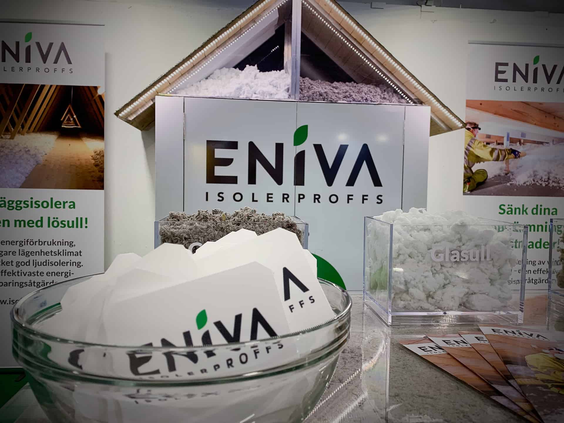 ENIVA Isolerproffs på mässa