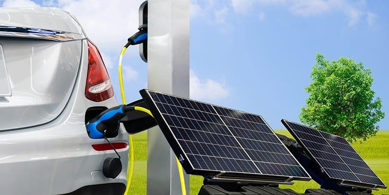 laddstolpar för elbil