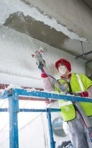 SprayTec för isolering av tak i krävande miljöer