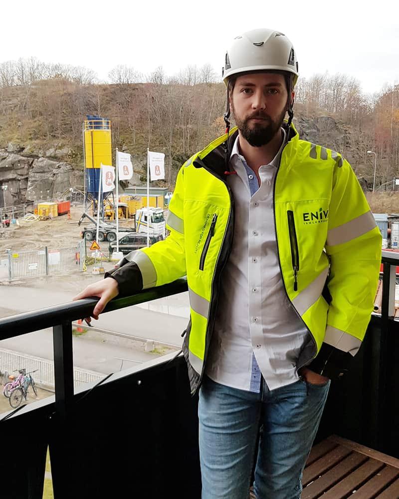 Vår nya säljare i region väst - Vincent Dellsén.