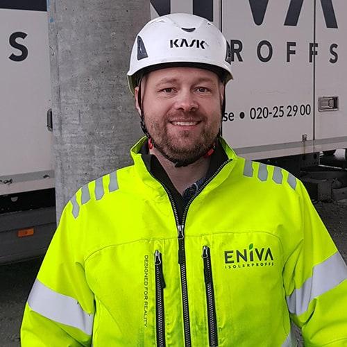 Håkan Sandegård, ENIVA Isolerproffs Väst
